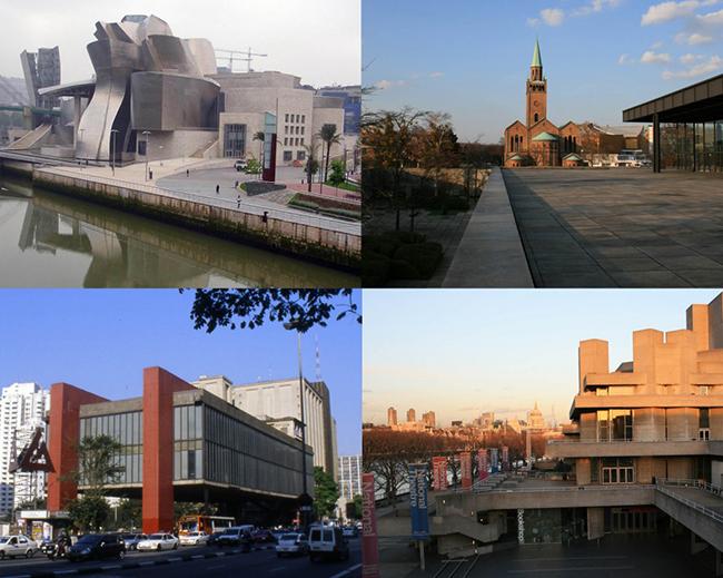 Guggenheim, Neue Staatsgallerie, MASP, Southbank Centre