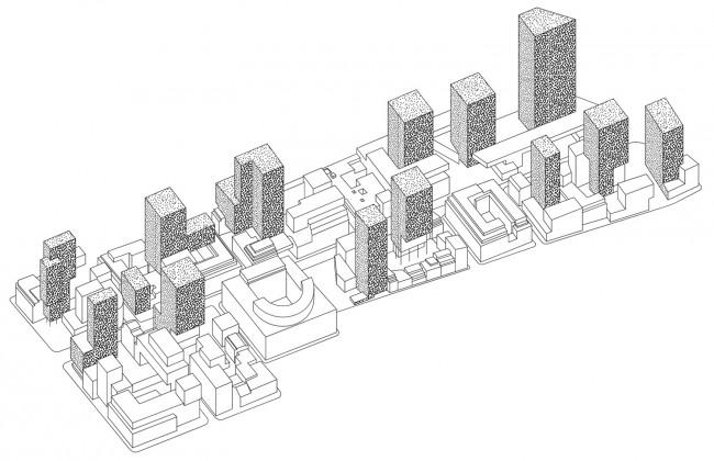 01 Project-for-Rue-de-la-Loi,-Portzamparc-2008